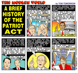 "A Brief History of the Patriot Act or ""How Both Democrats and Republicans are Enemies of Civil Liberty."""