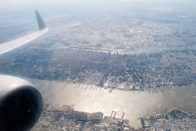 terrysdiary:  New York City from above.