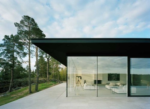 "Villa Överby by John Robery Nilsson Arkitektkontor: the lair of ""The Girl with the Dragon Tattoo's"" villain?"