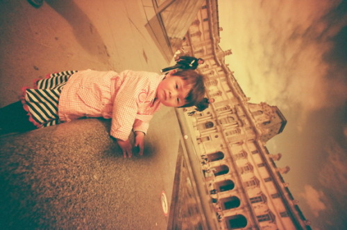 Little Bjork: Visits sideways (rebelliously) (by djnada on Lomography)