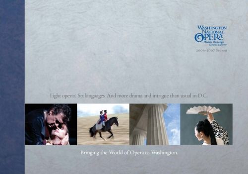 Washington National Opera I had alot of fun working on this brochure. Lots of retouching. There seems to be a theme going with a lot of my posts: MUSIC. I love the blues and, well, working on Opera and Blues at the same time was very rewarding.