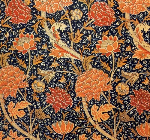 Cray William Morris Morris & Co. Textiles