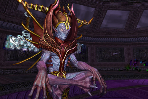 Yynzik the Scornridden. Some sort of alien voidbeing in EQ2.