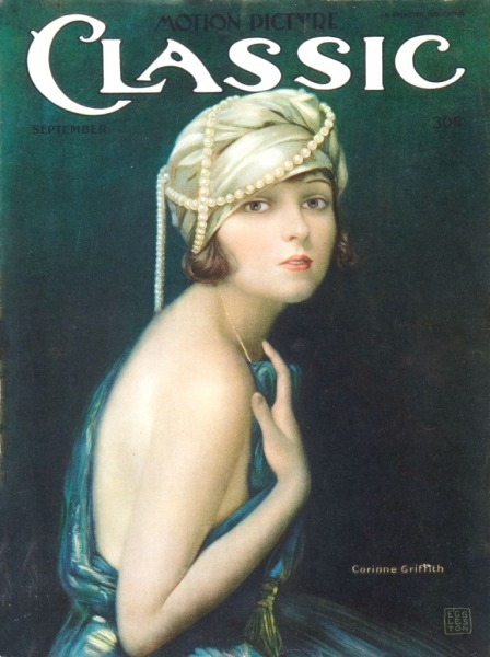 Corinne Griffith - Classic Motion Picture magazine (1921)