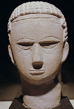 Sudan - 2nd-3rd cent. Head of a Man (Meroitic Period, Sandstone) by RasMarley on Flickr.