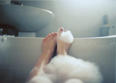 I want a bubble bath! :3