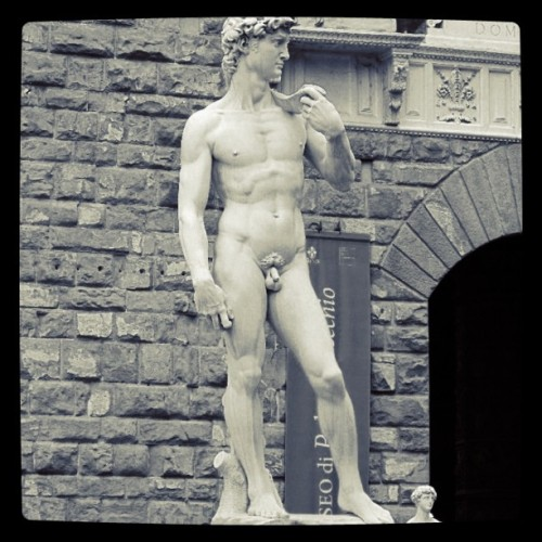 Copy of David; Florence, Italy; September 2010 (Taken with instagram)