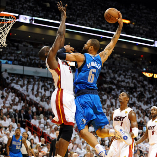 Tyson Chandler v. Joel Anthony (2011 NBA Finals, Game 1) [Image Source: NBA.com; Photographer: Garrett Ellwood/NBAE/Getty Images]