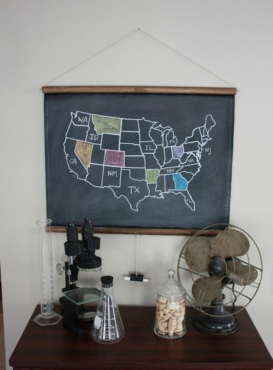 Apartment Therapy: The Many Looks of Chalkboard Paint