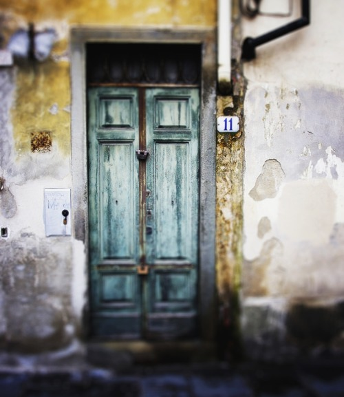 petitpoulailler:  ysvoice: Doorway, Firenze by/via freemug