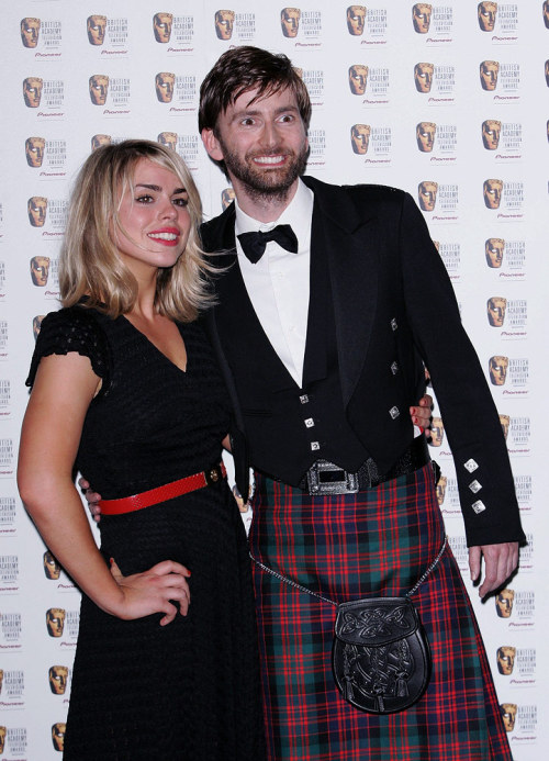 Tennant in a kilt. Just because.
