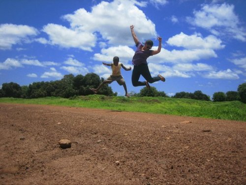 A leap in Mozambique - 2010