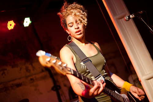 fuckyeahchickmusicians:  Kathy Foster of The Thermals
