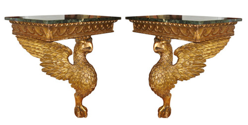Pair of Eagle Console Tables in Manner of William KentEnglandCirca 1900via Alexander Westerhoff/1stdibs