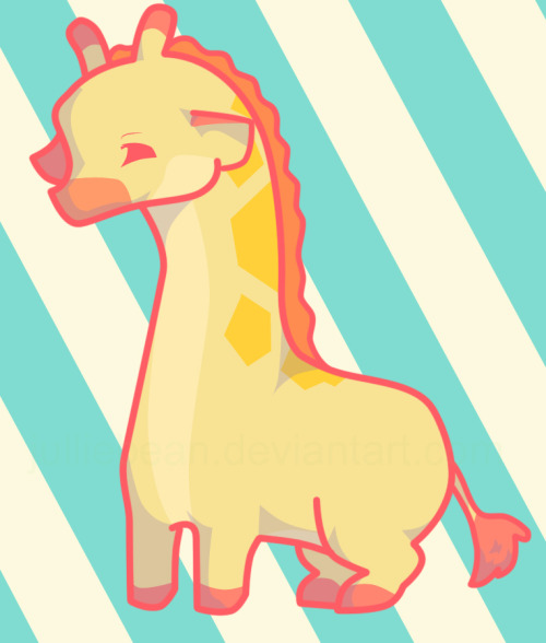 me too! eatsleepdraw:  i love giraffes! =)