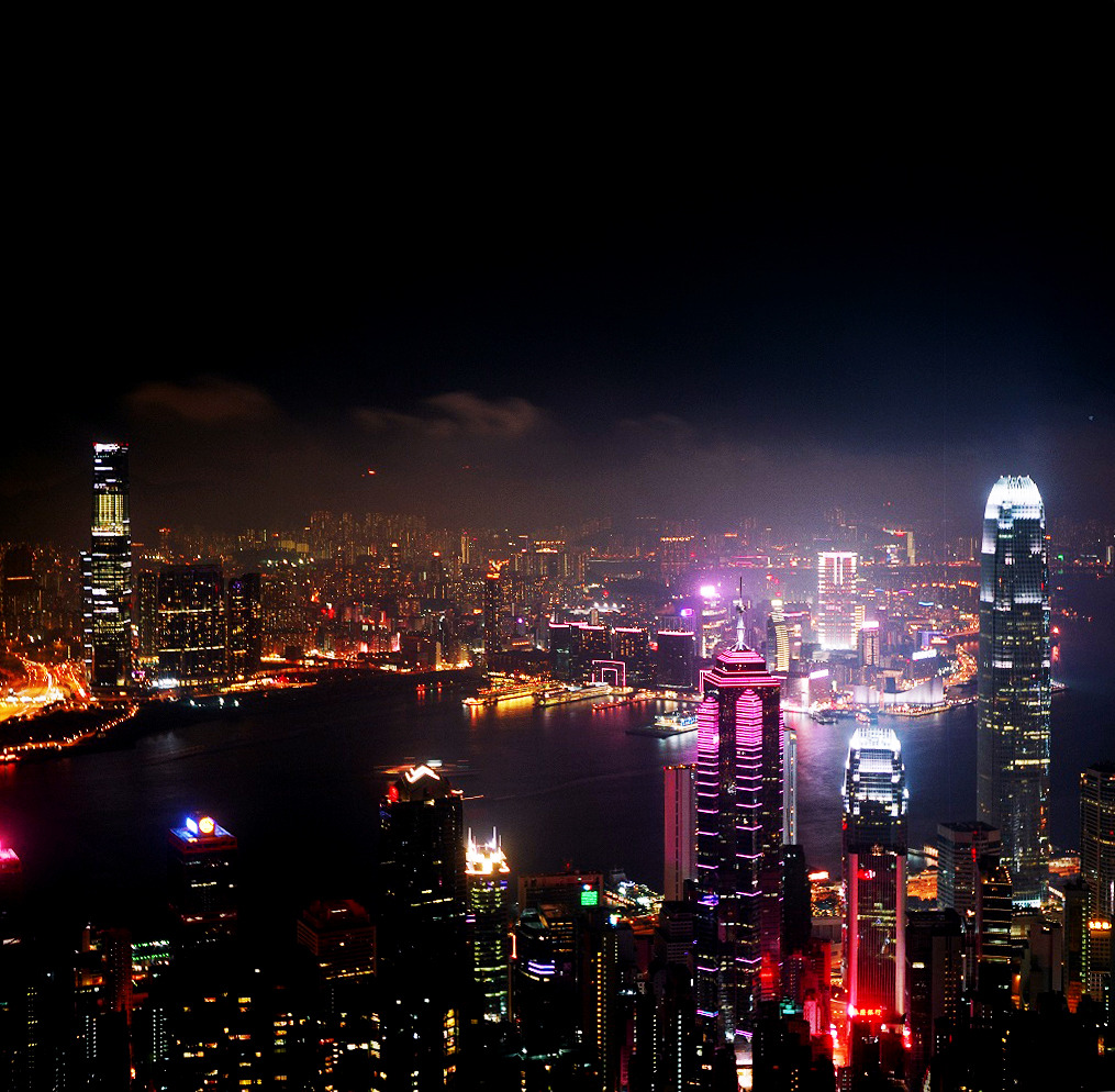 oh hk. you are so beautiful to me. photo taken from the peak. mind blowing even after 25 years!