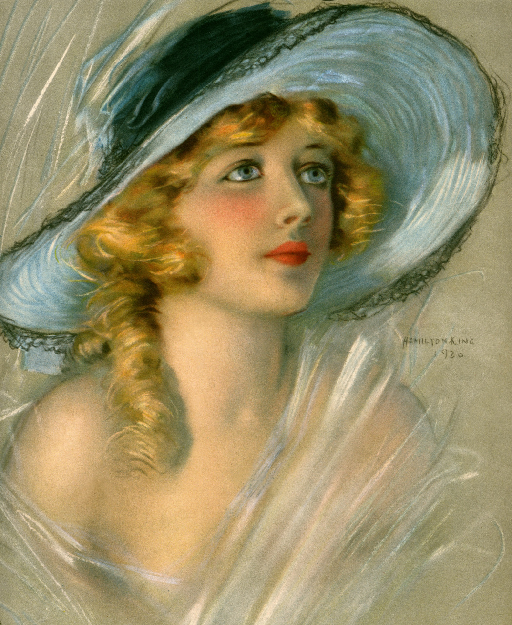 pickurselfup:  Portrait of Marion Davies for the June 1920 cover of Theatre Magazine.