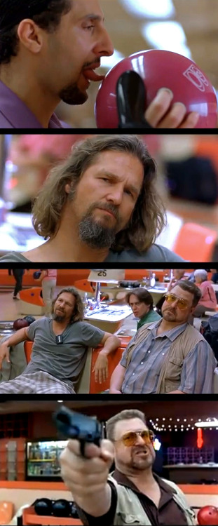 moviesinframes:  The Big Lebowski, 1998 (dir. Joel and Ethan Coen) By area39