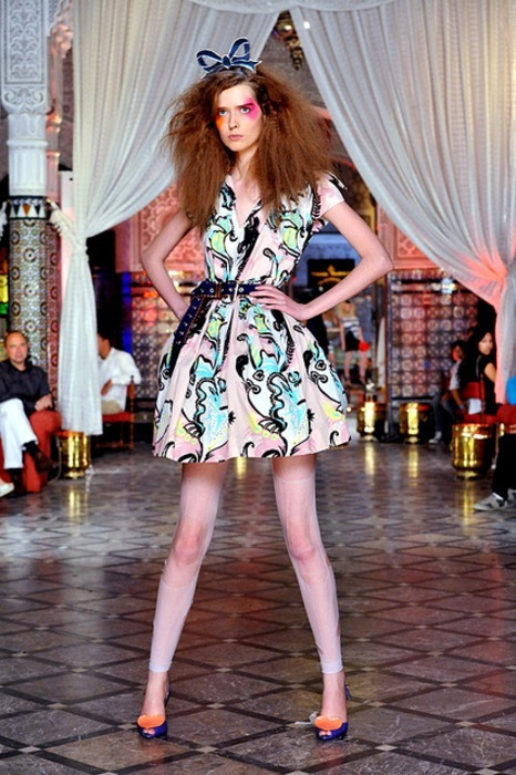wait, what show was this? Ann of ANTM actually walked in a fashion show? oh wait, was this ANTM's fashion show? hahaha thx katsupp for the heads-up