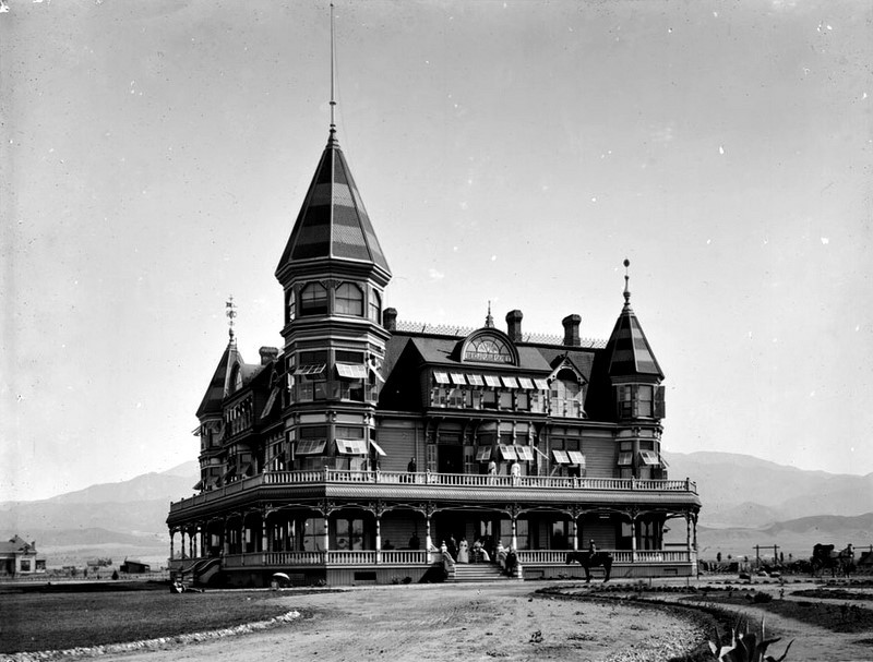 Hotel in Beaumont, Ca. circa 1895