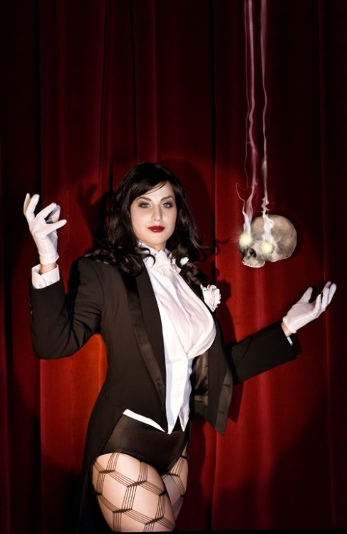 Meagan Marie as Zatanna
