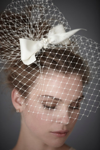 bride2be:  sainted sister blusher veil from bhldn i love this veil… it's classic, but still kind of sassy because it is big and poufs out in the front and even more in the back
