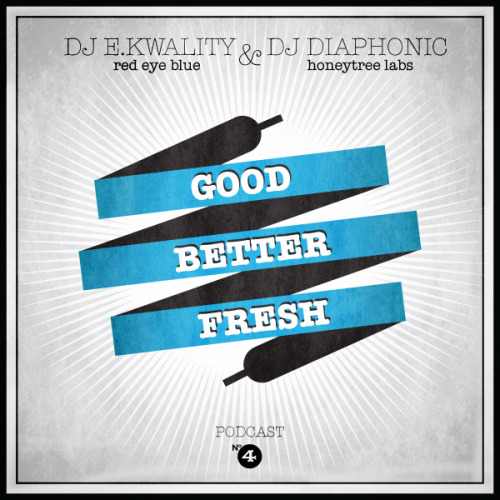 "finally the time has come for ""GoodBetterFresh"" podcast #4! for this episode we went dirty and bass-heavy from grimey hip hop to dubstep and for this reason ""GoodBetterFresh"" and our usual suspect DJ e.kwality (red eye blue) teamed up with special guest DJ diaphonic (honeytree labs) to present one mix containing 30 minutes of each of them. download (320 kBit/s) it for free, enjoy and feel free to spread it wherever you like… and of course watch out for the next episode coming in july!     tracklist: E.KWALITY'S 30 DIRTY MINUTES:01 GoodBetterFresh intro - e.kwality feat. ""ste"" 02 cashflow - major lazer feat. jahdan blakkamoore (subskrpt remix) 03 test mi nuh - future one 04 the general - jahdan blakkamoore (marcus visionary remix) 05 beba - PANTyRAiD 06 cozza frenzy - bassnectar (z-trip hellrazor remix)  07 that'll work - alchemist feat. three 6 mafia & juvenile 08  bring the reign - million dan 09 oi wot u lookin at - durrty goodz10 my 808 - matty g 11 cruel intentions - simian mobile disco feat. beth ditto (joker remix) 12 turn it up - amp live feat. mickey factz 13 sundown - jing bong ting 14 sundown - jing bong ting (itchy robot remix) 15 technophobe - n-type & the others / pow 2011 - lethal bizzle (acapella) 16 pow 2011 - lethal bizzle 17 why do you do this - klass A 18 revolution - son of kick (mr. madjestyk remix) 19 get a bit more - foreign beggars (skism remx)20 gypsy robot - tha trickaz (dubstep edit) 21 pink elephants VIP - daladubz 22 spring (bis beton zerspringt) - atomique feat. p.tah & con DIAPHONIC'S 30 DIRTY MINUTES: 23 high rankin - meow meow 24 kyza - go (bar9 remix) 25 downlink - android 26 reso - beasts in the basement 27 a dominant species - run & hide (vent remix) 28 ivory - hand grenade (datsik & excision remix) 29 akira kiteshi - pinball30 flux pavilion - normalize book dj e.kwality here!book dj diaphonic here!"