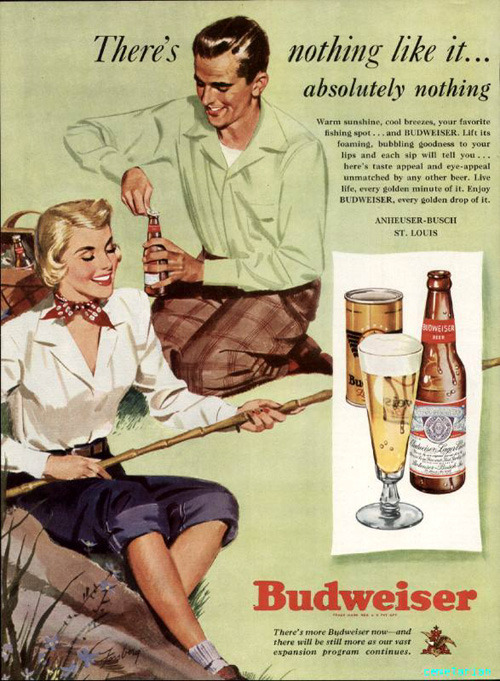 This makes me want to go fishing and drink #beer!