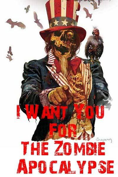 WANT YOU… …for the Zombie Apocalypse. | The Inevitable Zombie ...