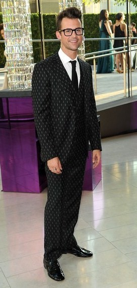 Stylist Brad Goreski looked pretty snazzy in a Simon Spurr suit at the 2011 CFDA Fashion Awards.