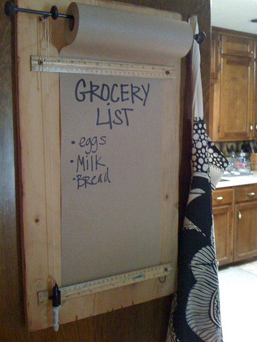 DIY Grocery List via The Suels