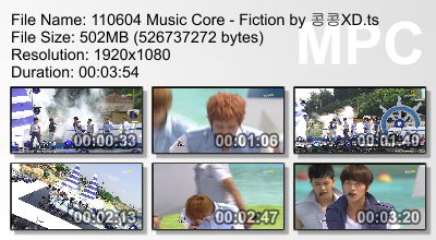 110604 Music Core - Fiction Megaupload CR: 콩콩XD + Yui@ beastdownloads.tumblr.com