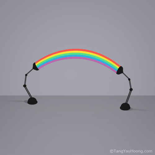 Surreal Light: Rainbow By Tang Yau Hoong: Website / facebook / tumblr / twitter / flickr
