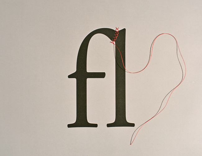 You don't often think of things like ligatures when you think about typefaces, though that's about to change with this post from Plenty of Colour. Here's a pretty visualization of what they're talking about. -Ben