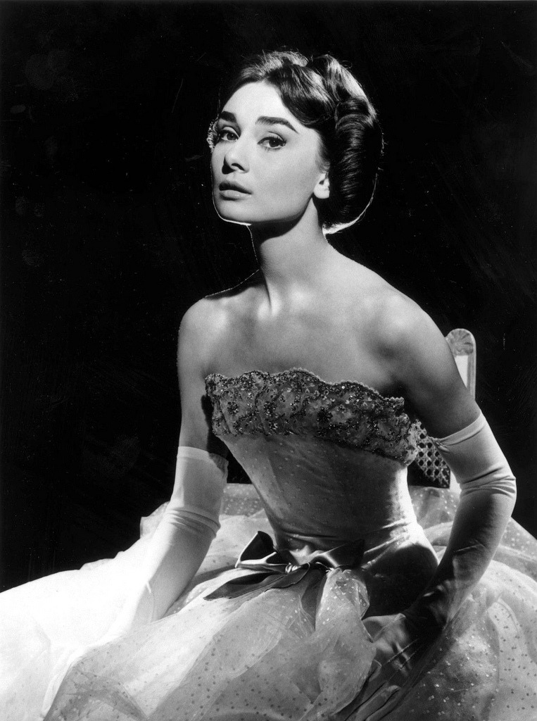 "Audrey Hepburn, ""Love in the Afternoon"", 1957Gown by Givenchy Haute Couture"