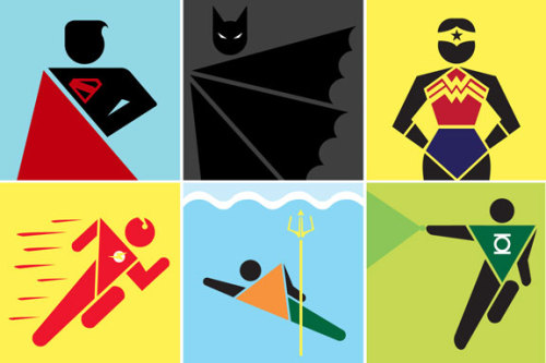Pictograms by Teddy Hahn | via Comic Alliance  {via dcu}