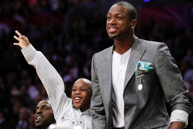 Thanks for reminding me that Dwayne Wade is more than a Heat. Good read, Jane! (via Dwyane Wade: My Life as an NBA Single Dad - Newsweek)