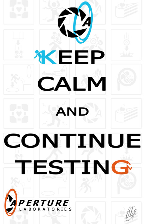 alixt:  Continue Testing by Alixt Aperture Science Laboratories Motivational Ltd. <3