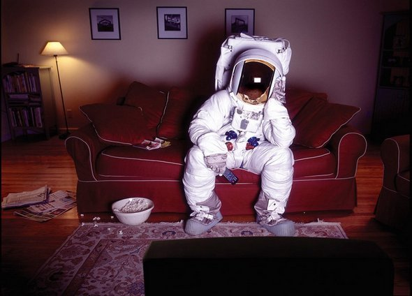 I've thought about the concept of a lonely astronaut for ages and then I stumbled across this! http://photowhs.com/?p=546 Absolutely amazing