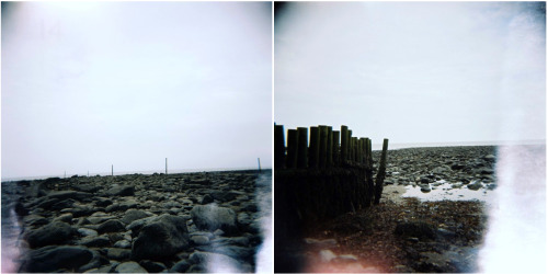 Lynmouth, Devon. Burnt edges are my fav holga accidents!
