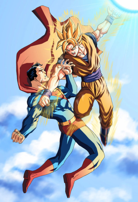gabface:  goku ftw!  Photoshopped!!! This never happened!