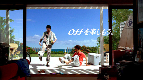 Asahi - Off beer ''Off and enjoy'' by Ryuta Sato & Yuto Nagatomo