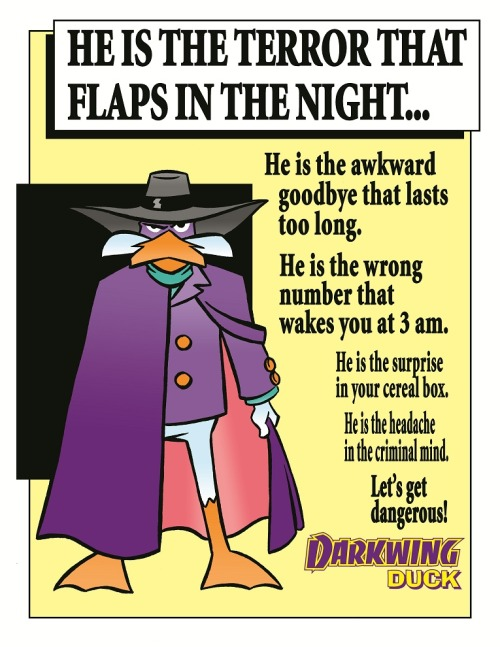 swamiswampy:  Darkwing Duck: Year One