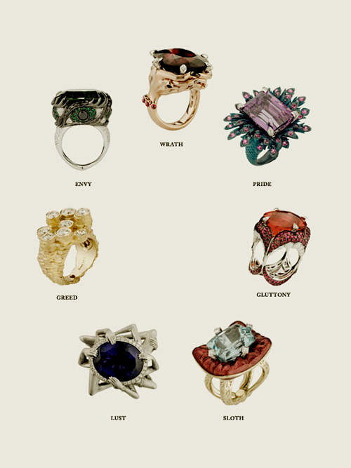 seven sins of rings!