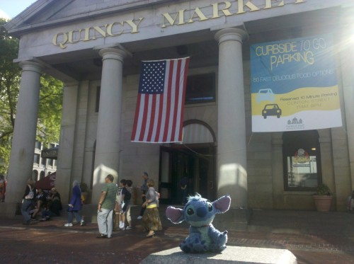 Spending the summer exploring Boston- hello Quincy Market!