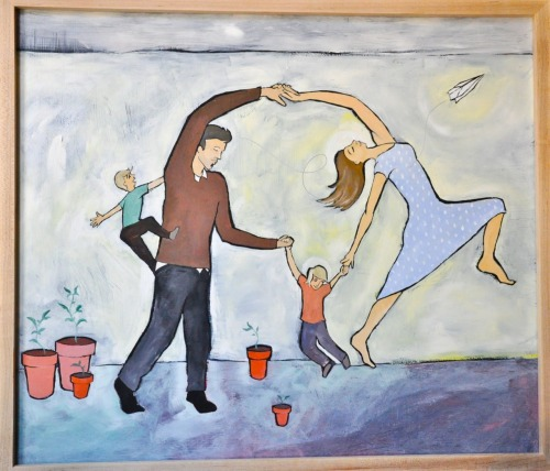 Dancing Family by Jethro Gillespie