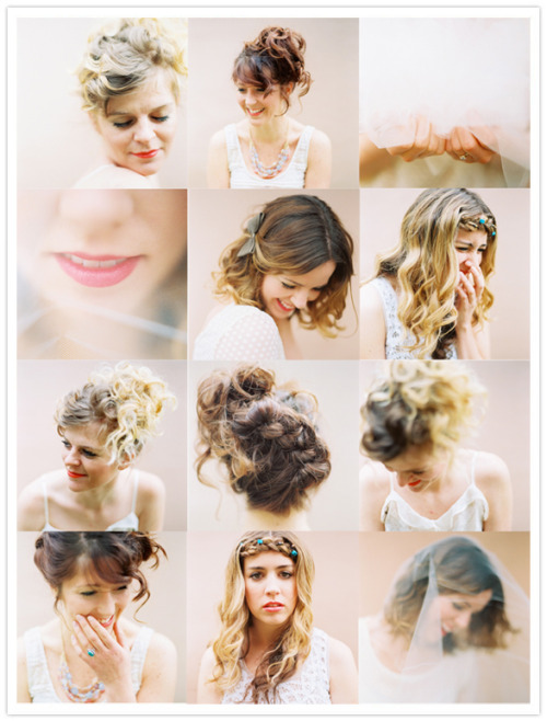 hipsterbride:(via Summer hair & makeup ideas from Kami Christensen and Jill Thomas | Beauty Bar | 100 Layer Cake)