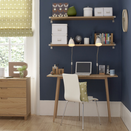source unknown - Let me know if you know! Small Home Office Design