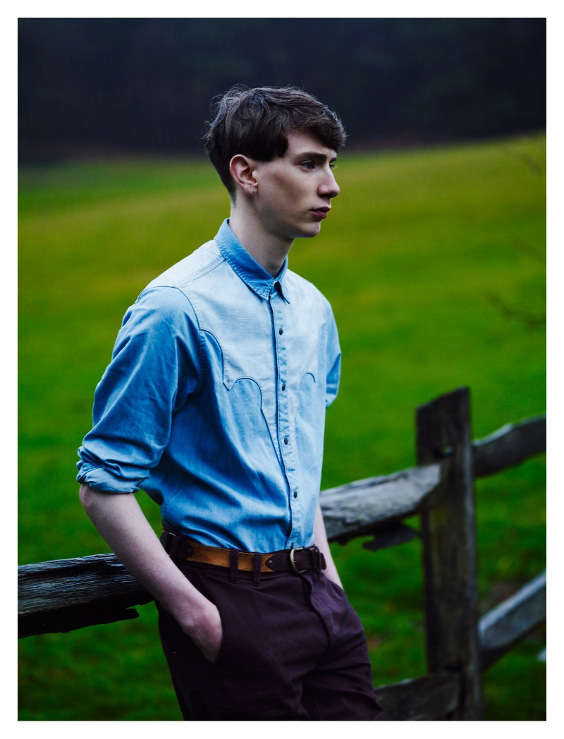 Lukas Grout by Laurence Ellis for Topman LTD Spring 2011