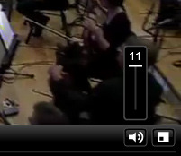 BBC Radio 1 - The video player volume control goes up to 11. /via Abhimanyu